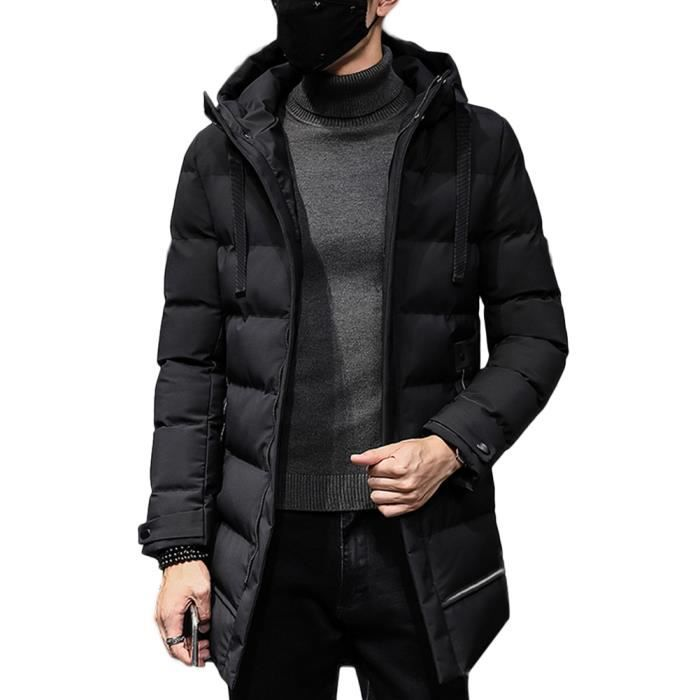 Jeunesse long Mi Nouveau 2018 Vêtements Veste Hiver De Fashion Style Coton Chaude YtwnEqH