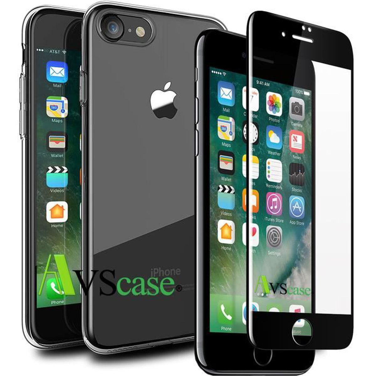 coque en verre trempe iphone 7