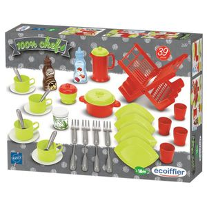 Dinette ecoiffier achat vente jeux et jouets pas chers for Achat accessoire cuisine
