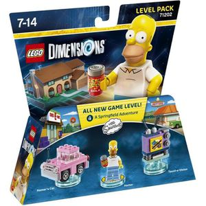 FIGURINE DE JEU Figurine LEGO Dimensions - Homer Simpson - Les Sim