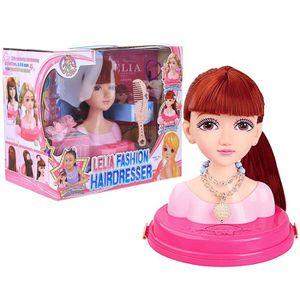 TÊTE À COIFFER Poupée coiffante coiffure cheveux jouet pratique d