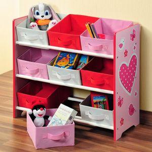 Meuble rangement chambre enfant achat vente jeux et jouets pas chers - Etagere rangement chambre ...