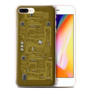 coque iphone 8 apple jaune