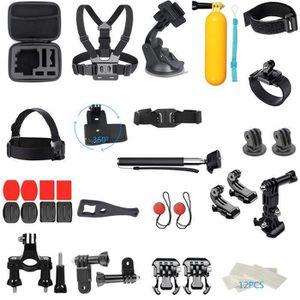 CAMÉRA SPORT Pour GoPro Accessoires Hero7 - 6-5-4-3 Bundle Kit