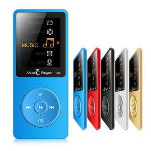 LECTEUR MP3 Lecteur Audio MP3 16 Go Enregistreur Vocale FM 1,8