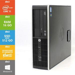 UNITÉ CENTRALE  Pc bureau hp elite 8200 core i5 16go ram 512go SSD