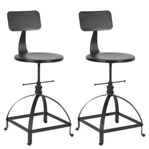 chaise haute industriel achat vente chaise haute industriel pas cher soldes d s le 10. Black Bedroom Furniture Sets. Home Design Ideas
