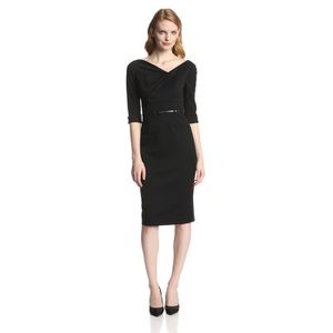 4 Femmes Robe Jackie Achat 3 Manches 40 Noir O Hgpvl Taille xS77wHq
