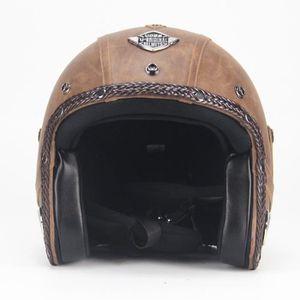 CASQUE MOTO SCOOTER casque moto Casque vintage Casque coupe-vent Casqu