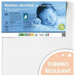 MATELAS BÉBÉ BABYCALIN Matelas Bébé Climatisé 60x120x12 cm 20 k