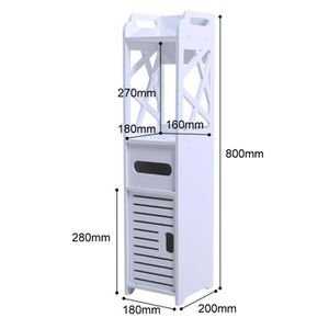 COLONNE - ARMOIRE WC Armoire de toilette étanche - Armoire de toilette