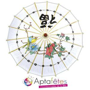 Déco de fête murale DECORATION NOUVEL AN CHINOIQ OMBRELLE CHINOISE 60C