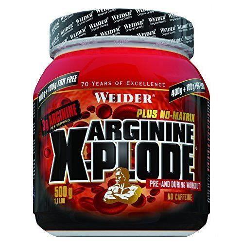 WEIDER Sachet de Arginine X-Plode 500g