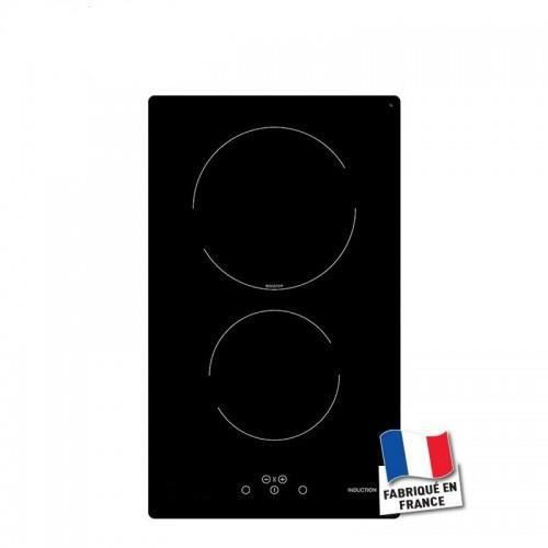 domino induction 2 foyers - achat / vente plaque induction - black