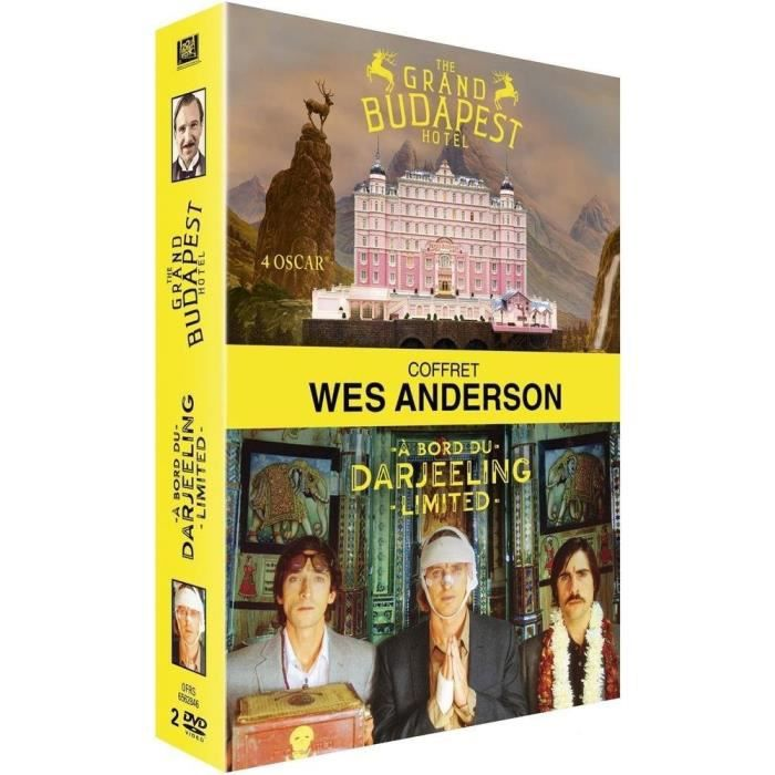 DVD FILM DVD - Wes Anderson : The Grand Budapest Hotel + A