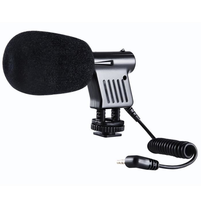 MICROPHONE EXTERNE BOYA BY-VM01 Condenseur Directionnel Microphone