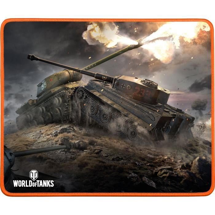 TAPIS DE SOURIS Tapis De Souris Gamer Konix World Of Tanks MP-10