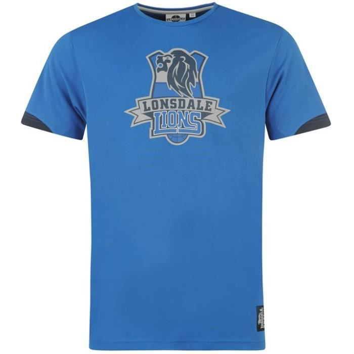 Ball Taille Homme Shirt Basket Lonsdale Achat Smvqpuzg T Xs Vente sQxdCthr