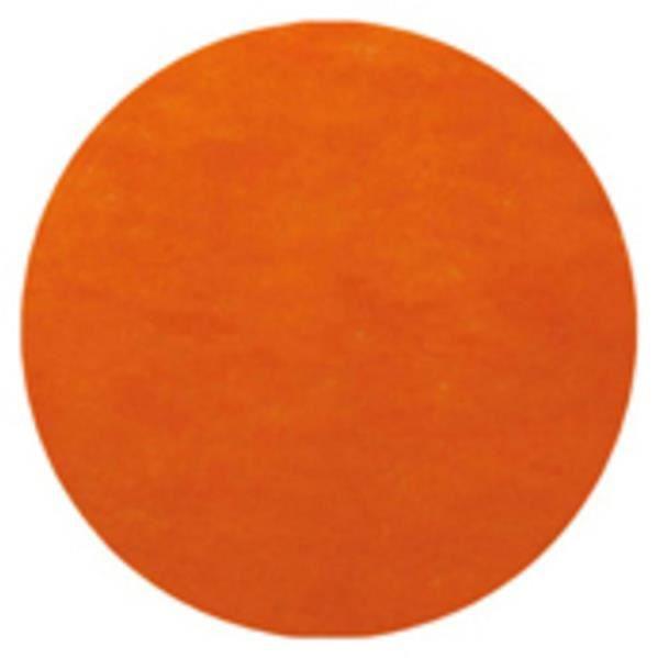 Set de table rond orange x50 ref 2812 achat vente - Set de table rond jetable ...
