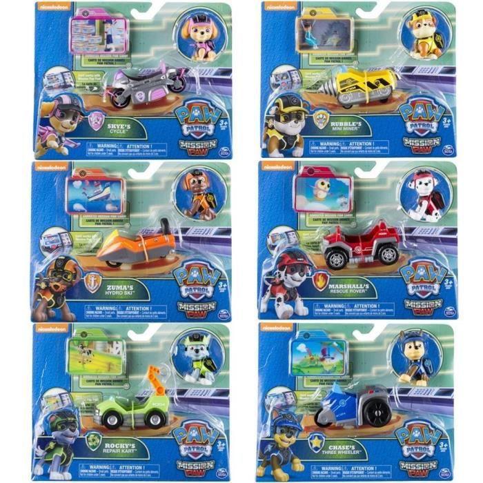 8 figurines pat patrouille