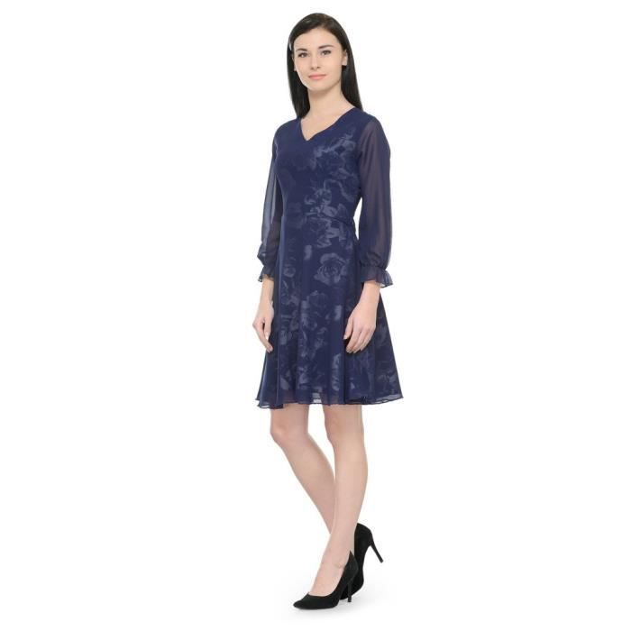 Womens Multicolor Printed Shift Dress BH5IU Taille-38