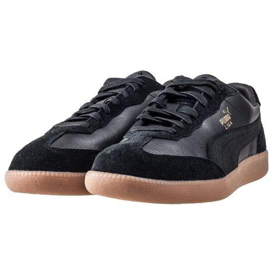 buy cheap f9546 c7d40 Puma Liga Leather Hommes Baskets Gomme Noire - 8 UK Noir Gomme noire -  Achat   Vente basket - Cdiscount