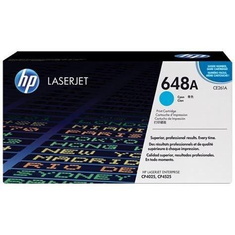 HP Cartouche de toner 648A - 11 000 pages - Pack de 1 - Cyan