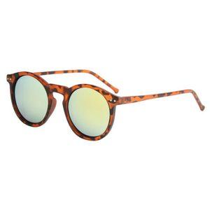 LUNETTES DE SOLEIL Femmes lunettes de soleil circulaires de mode de l ... 9026ac1d0e45