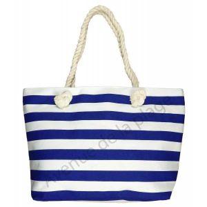 5c51c2ece0 Sac de plage rayé style marinière - Achat / Vente panier - sac de ...
