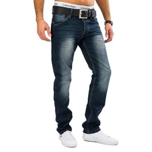 JEANS Hommes Regular Fit Jeans Nr.1608 stone washed Deni
