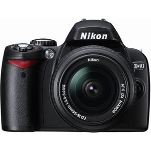 APPAREIL PHOTO RÉFLEX Nikon D40 18-55mm Appareil photo reflex numérique
