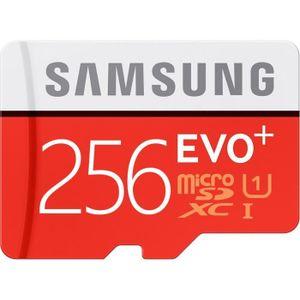 CARTE MÉMOIRE Carte Mémoire Samsung Evo Plus 256Go Micro SD