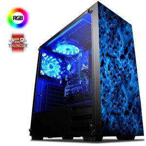 UNITÉ CENTRALE  VIBOX Vision 2L PC Gamer Ordinateur avec War Thund