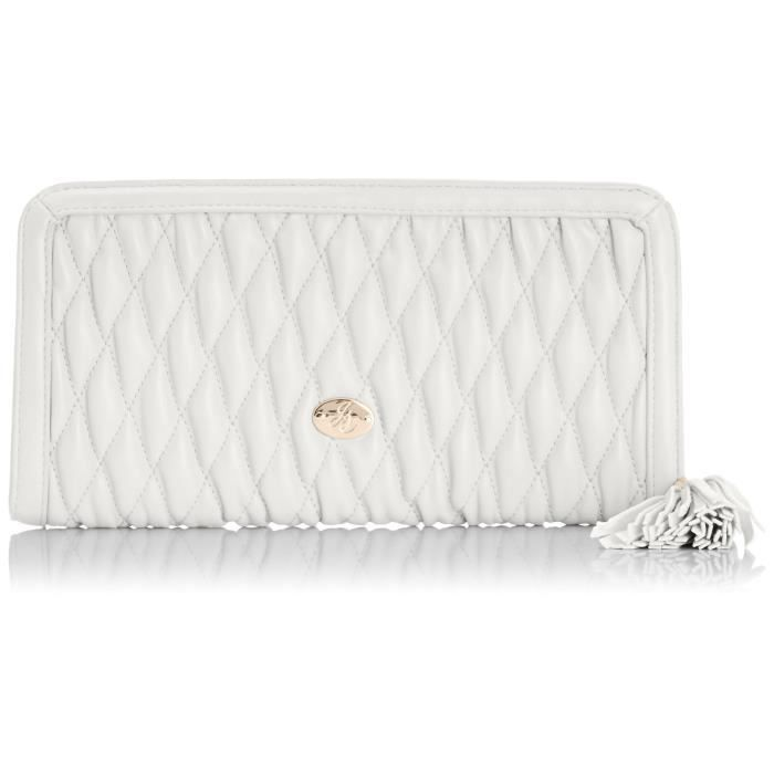 Crystal - Quilted Zip, Sac Menotte Femme ZY6J7