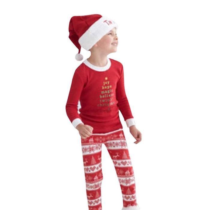 Nightwear Christmas Ha5156 Xmas Noël Sleepwear Baby Pyjamas Set Pajamas Kids rqYnqpAOS