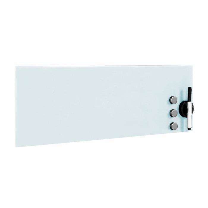 tableau magnetique verre achat vente tableau magnetique verre pas cher cdiscount. Black Bedroom Furniture Sets. Home Design Ideas