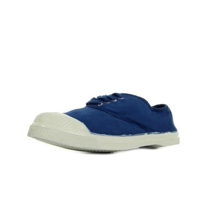 Marques Chaussure femme Bensimon femme Tennis Lacets W Bleu Vif