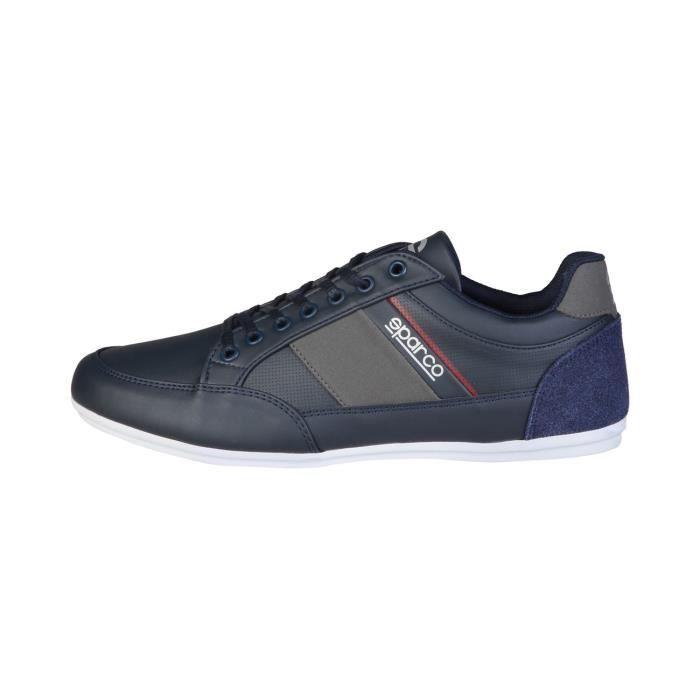 Trussardi - Sneakers pour homme (77S515_116_BLK-GREY-WHITE) - Noir NklHx