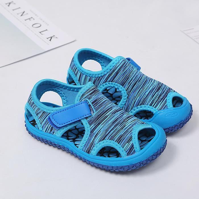 Mode Enfant Plage Pour Garçon Velcro Bébé Chaussures Enfants Fille Sandales XiuTPZOk