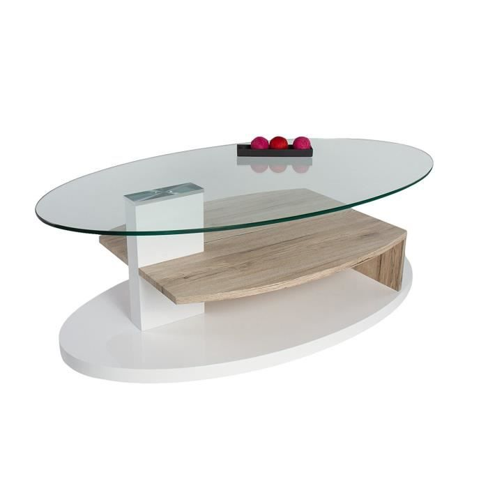 table basse table basse coloris sonoma chne dimensions 110 - Table Basse Dimension