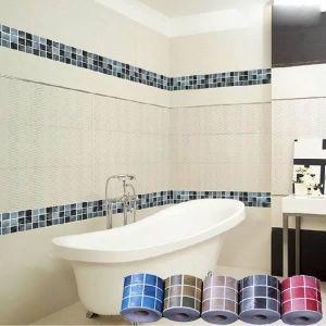 frise murale adhesive salle de bain achat vente pas cher. Black Bedroom Furniture Sets. Home Design Ideas