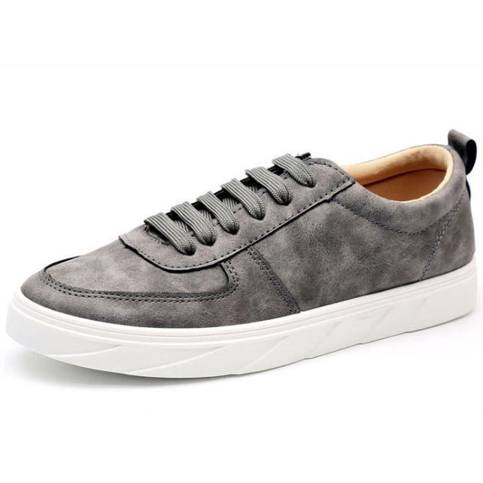 Les chaussures de loisirs homme basket mode noir gris kaki lFU0mMGVf