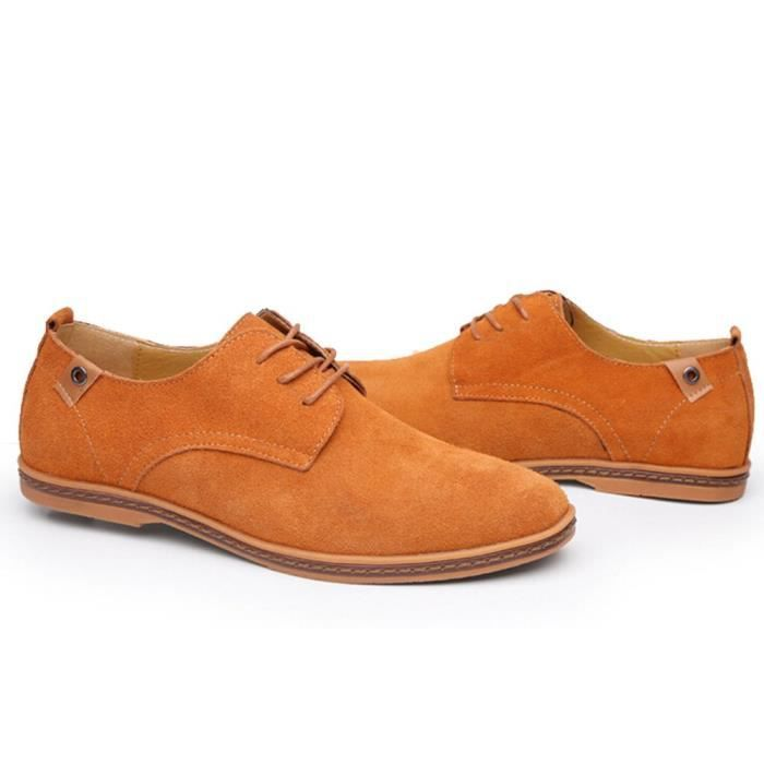 Tm Mens Pu Leather Lace Up Casual Driving Working Shoes JNRWT Taille-39 biIal