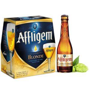 BIÈRE AFFLIGEM Pack de 6 Bières blondes 6,7° - 25 cl