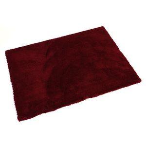 tapis gris et rouge achat vente tapis gris et rouge pas cher cdiscount. Black Bedroom Furniture Sets. Home Design Ideas