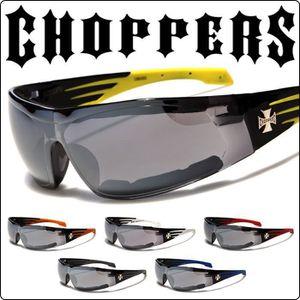 c48b04bdb9981b LUNETTES DE SOLEIL lunette de soleil choppers strip jaune biker homme