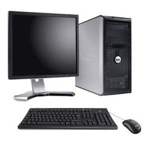 UNITÉ CENTRALE + ÉCRAN PC de bureau - Dell Optiplex 755 Format Tour 2,66G