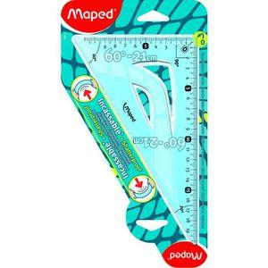 FLOCON DE MAÏS MAPED - Equerre 60°/21cm Flex incassable