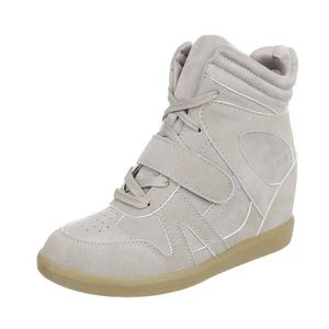 BASKET élégant Sneakers pour femmes   Sneaker Wedges   ta 9d6847edff83