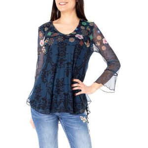 Cher Pas Blouse Desigual Achat Vente YWH2IeED9